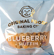 Blueberry Mega Muffin Original Foods 140g