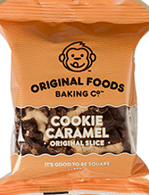 Cookie Caramel Individual Slice Original Foods 95g
