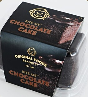 Chocolate Cake Single Serve Original Foods 100g