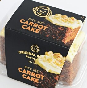Carrot Cake Single Serve Original Foods 110g
